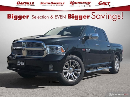 2015 Ram 1500 LIMITED | ECO DIESEL | NAV | FULLY LOADED | 1 OWNE Truck Crew Cab