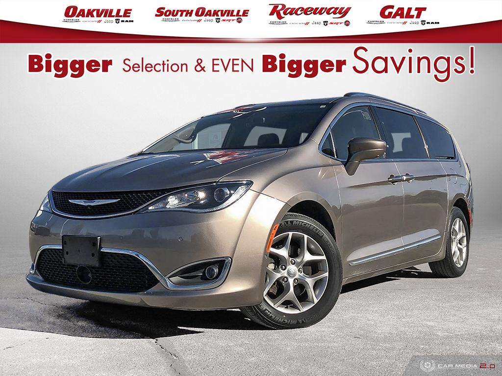 2018 Chrysler Pacifica TOURING-L PLUS | YES WE ARE OPEN 9-5 | WHITE GLOVE DELIVERY IN THE GTA Van Passenger Van