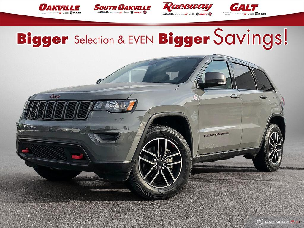 2019 Jeep Grand Cherokee TRAILHAWK | YES WE ARE OPEN 9-5 | WHITE GLOVE DELIVERY IN THE GTA SUV