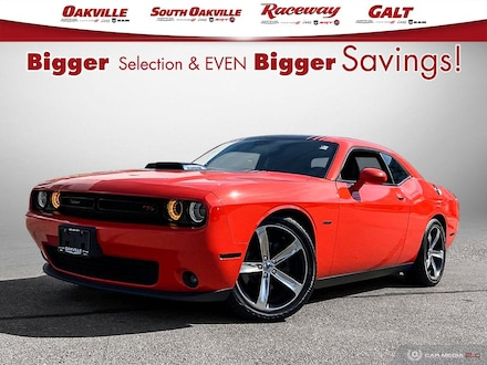 2017 Dodge Challenger R/T SHAKER | SUNROOF | NAVI | HEATED LEATHER | Coupe