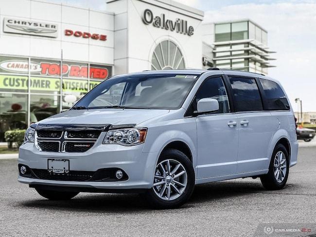 2018 Dodge Grand Caravan SXT PREMIUM PLUS   NOT A RENTAL   NAV   DVD   BLUE Van Passenger Van