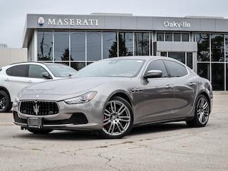 Used 2017 Maserati Ghibli S Q4 *Maserati Certified 1.9%* ZAM57RTLXH1235924 in Oakville, Ontario