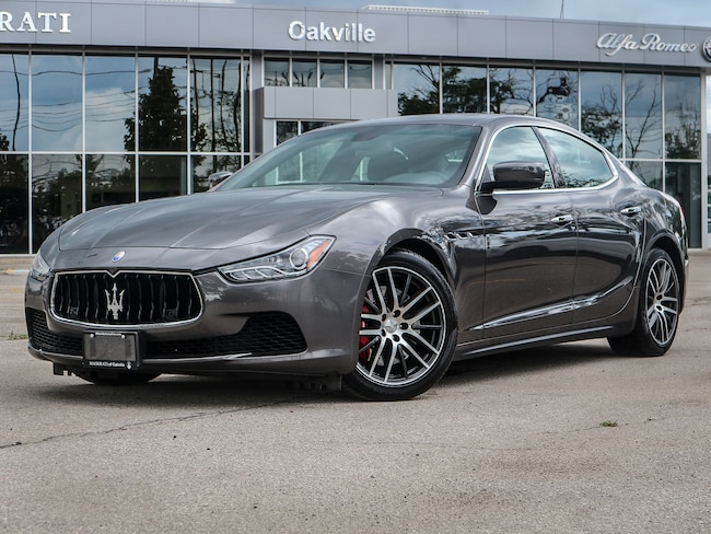 2015 Maserati Ghibli S Q4 *Maserati Certified 1.9% $505 bi Weekly With