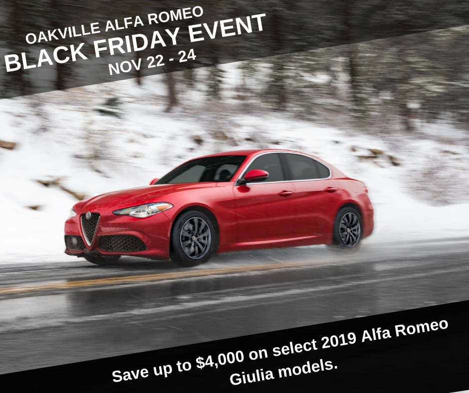 Alfa Romeo Of Oakville Monthly Incentives