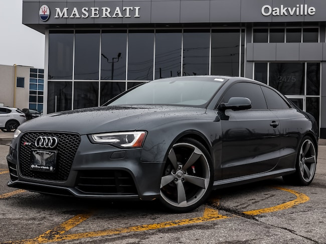 2014 Audi RS 5 4.2 7sp S Tronic Cpe * Audi Dealer Maintained - Hi