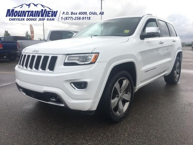 2016 Jeep Grand Cherokee Overland - Navigation SUV
