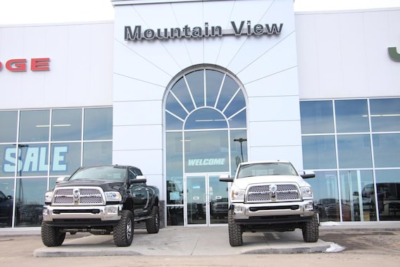 Mountain View Dodge >> About Us Mountain View Dodge Jeep Chrysler Ram Olds Ab