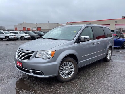 2014 Chrysler Town & Country LIMITED**LEATHER**SUNROOF**NAV**BLIND SPOT** Wagon
