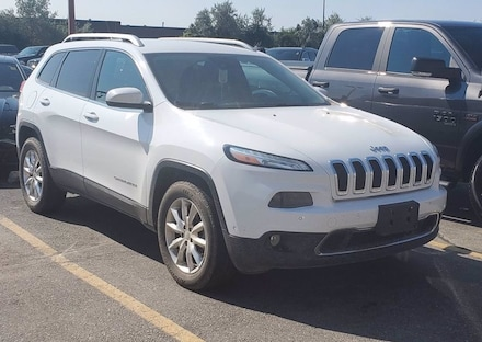2014 Jeep Cherokee LIMITED**4X4**V6**LEATHER**BLIND SPOT**ADAPTIVE CR 4WD  Limited
