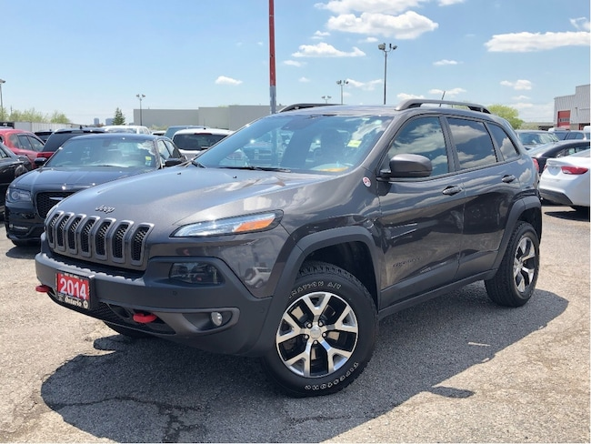 2014 Jeep Cherokee Trailhawk**Leather**Sunroof**NAV**Trailer TOW** SUV