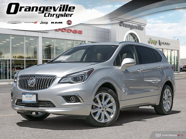2016 Buick Envision Premium I, AWD, 2.0T, Roof, HTD Leather, 1-Owner! SUV