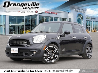 2011 MINI Cooper S Countryman S ALL4, JCW Alloys, HTD Leather, Roof, LOW KMS! SUV