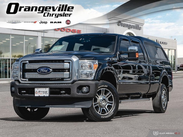 2014 Ford F-350 Platinum, Powerstroke, Loaded, 1-Owner, Clean! Truck Crew Cab