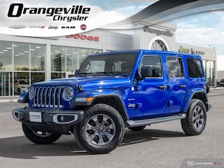 2019 Jeep Wrangler Unlimited Sahara, NAV, Dual TOP, Heated Leather, 1-Owner! SUV