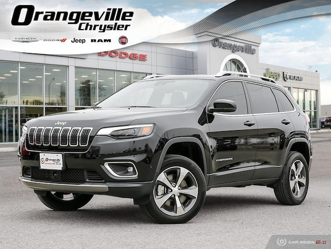 2019 Jeep New Cherokee Limited, 4X4, 2.0T, NAV, Roof, HTD/Cool, 1-Owner! SUV