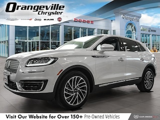 2019 Lincoln Nautilus Reserve AWD, 2.0T, NAV, Roof, 1-Owner, LOW KMS! SUV