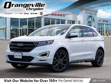 2015 Ford Edge Sport, AWD, Twin Turbo, 1-Owner, Loaded, Certified SUV for sale in Orangeville, ON