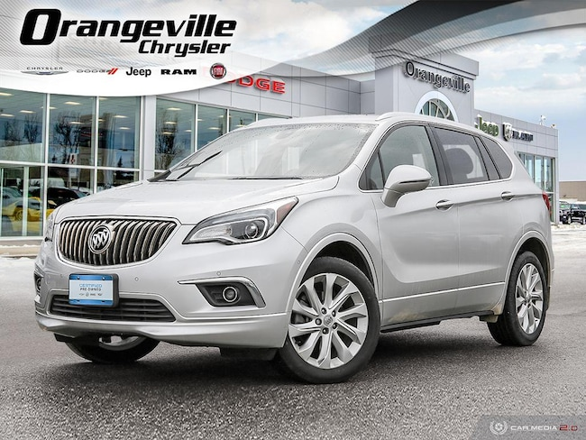 2017 Buick Envision Premium II, AWD, NAV. Roof, HTD/Cool, 1-Owner! SUV
