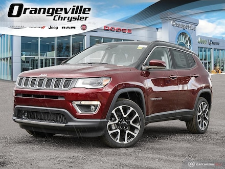 2021 Jeep Compass Limited 4x4 for sale in Orangeville, ON