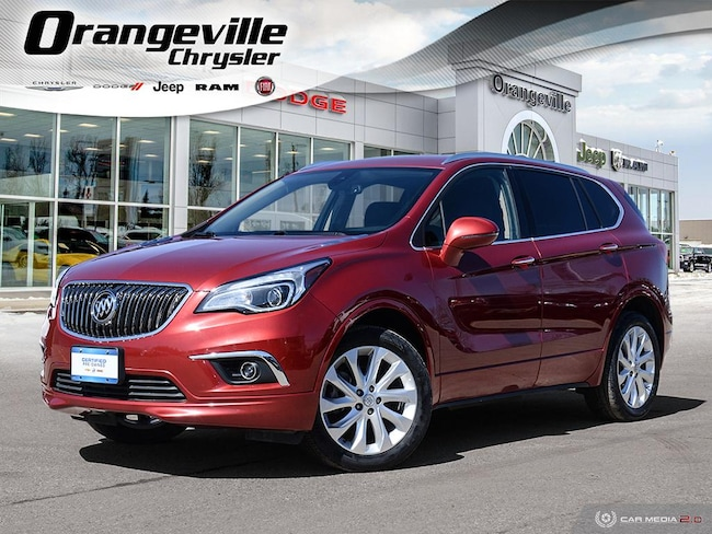 2016 Buick Envision Premium I, AWD, HTD Leather, Rmte Strt, 1-Owner! SUV