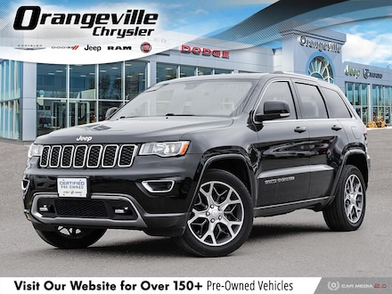 2018 Jeep Grand Cherokee Sterling Edition, 4X4, NAV, Roof, 1-Owner, Clean! SUV for sale in Orangeville, ON