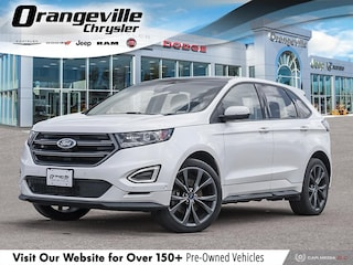 2015 Ford Edge Sport, AWD, Twin Turbo, 1-Owner, Loaded, AS-Traded SUV