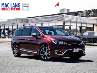 2019 Chrysler Pacifica Limited, Navi, Btooth, Vent Lthr, Super LOW KMS!!