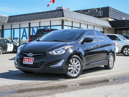 Used Cars Orillia >> Used 2016 Hyundai Elantra Sport For Sale Orillia On