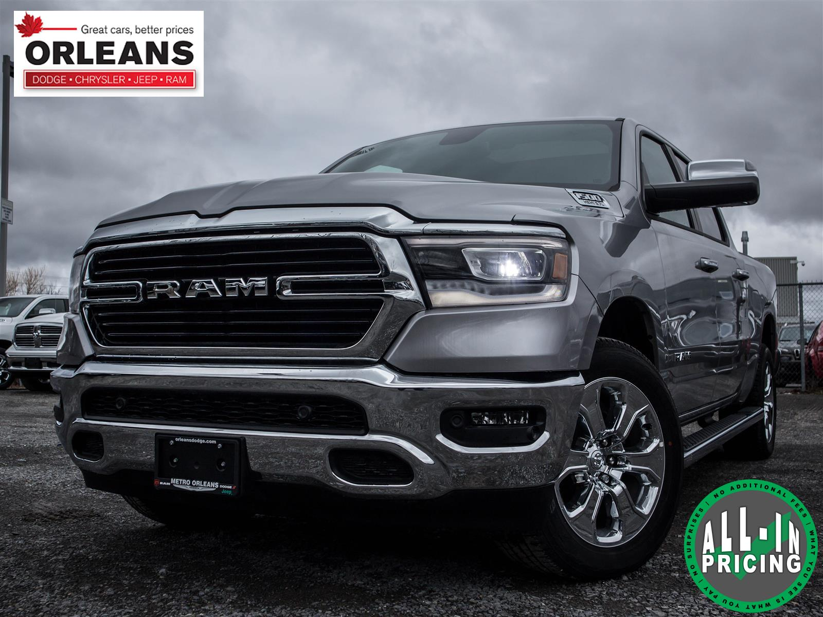 2019 Ram All-New 1500 Big Horn (text us at 613-777-1899) Truck Crew Cab
