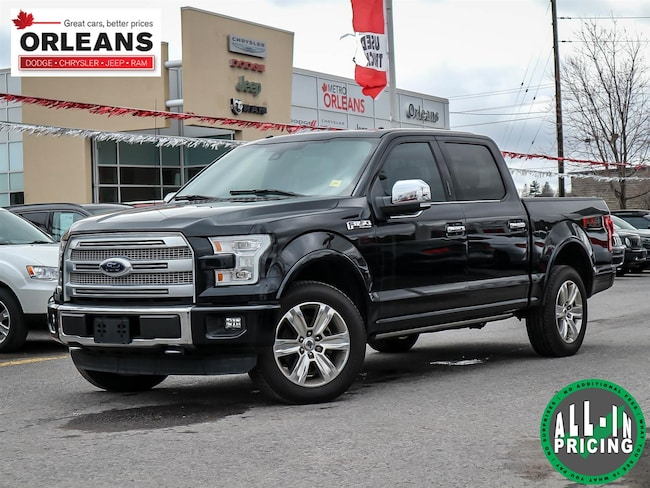 2016 Ford F-150 Platinum (text us at 613-777-1899) Truck