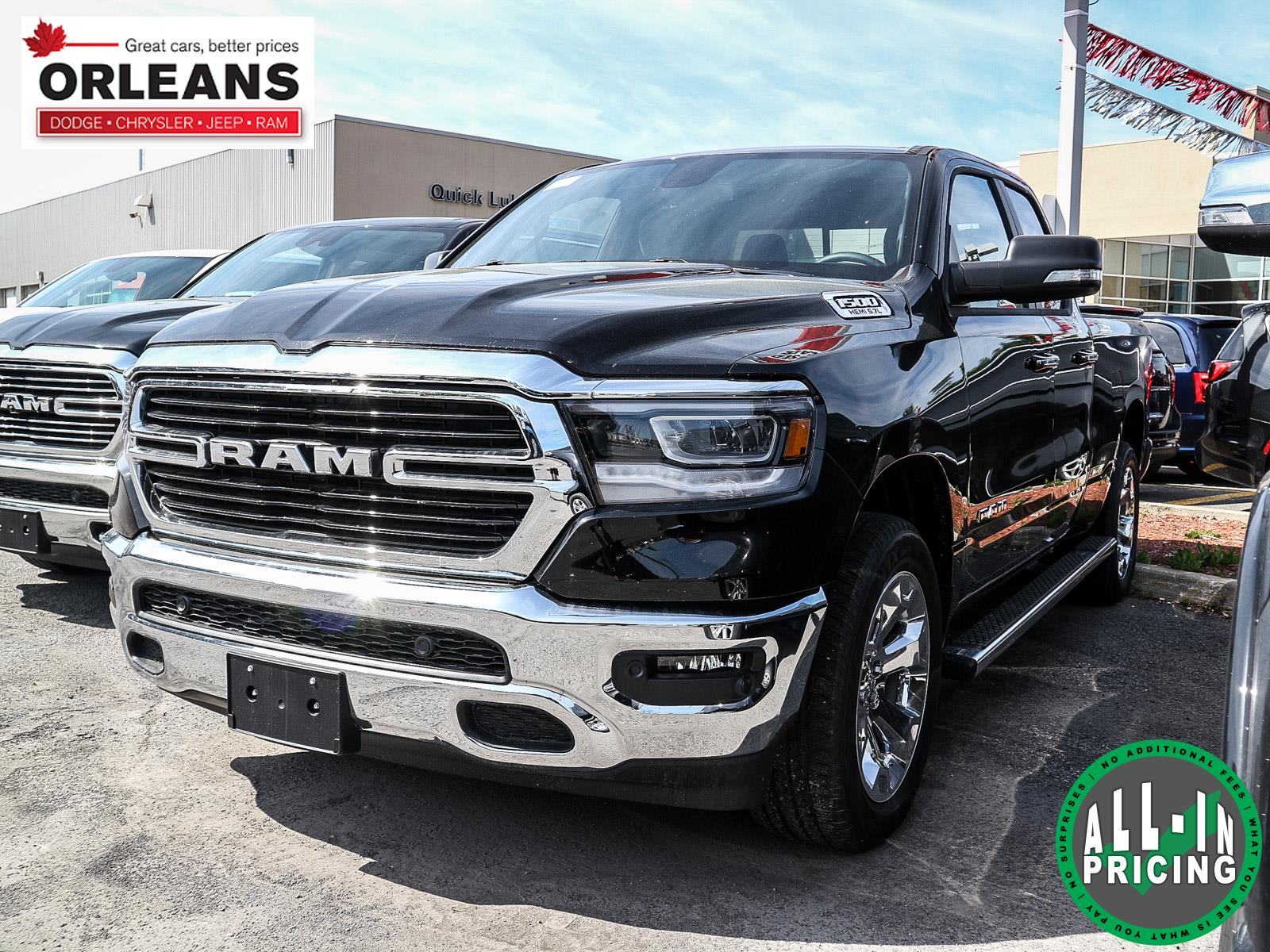 2019 Ram All-New 1500 Big Horn (text us at 613-777-1899) Truck Quad Cab