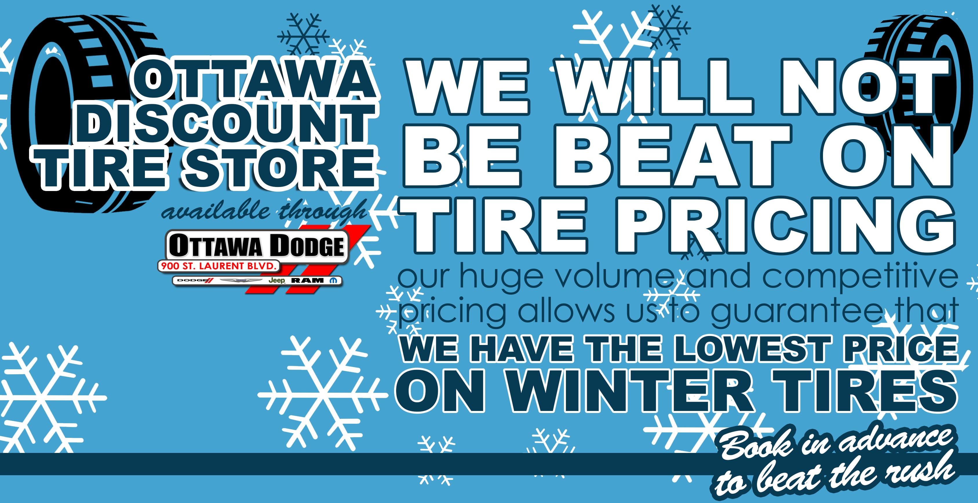 Discount Tire Hours Sunday >> Ottawa Chrysler Jeep Dodge Ram & FIAT of Ottawa | New Dodge, Jeep, FIAT, Chrysler, Ram ...