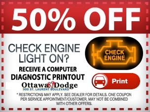Why is My Check Engine Light On? | Ottawa Dodge Dealer | Ottawa FIAT