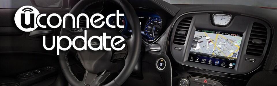Update your Chrysler Jeep Dodge Ram Uconnect System Software