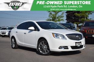 2015 Buick Verano Premium - Fully Equipped, Sunroof, Bluetooth, Back Sedan