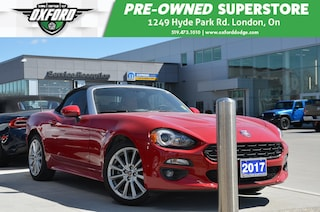 2017 FIAT 124 Spider Low Kms, UConnect/Bluetooth, Auto Climate Control Convertible