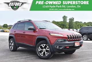 2017 Jeep Cherokee Trailhawk - Well Equipped, Roof Rack, Trailer Hitc SUV