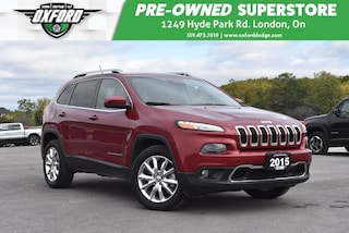 2015 Jeep Cherokee Limited - Lane Departure, Trailer Hitch, GPS SUV