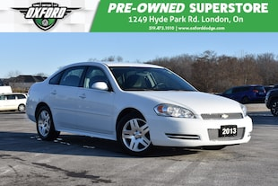 2013 Chevrolet Impala LT - Low Kms, Well Maintained, GPS Sedan