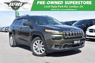 2014 Jeep Cherokee Limited - Roof Rails, Cruise Control, Back Up SUV