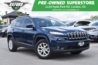 2018 Jeep Cherokee North - Well Maintained, Great Features SUV