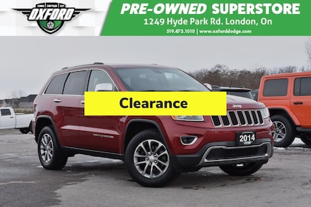 2014 Jeep Grand Cherokee Limited - Roof Rack, GPS, Sunroof SUV