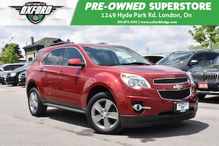 2014 Chevrolet Equinox 2LT - One Owner, Low Kms, Well Maintained, FWD SUV
