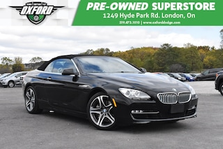 2012 BMW 650 i (A8) - Power Top, 4.4L V8 Turbo, Backup Camera Cabriolet