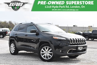 2016 Jeep Cherokee Limited - One Owner, Roof Rack, Trailer Hitch SUV