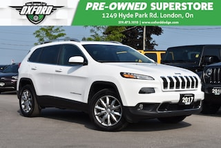 2017 Jeep Cherokee Limited - Low Kms, One Owner SUV
