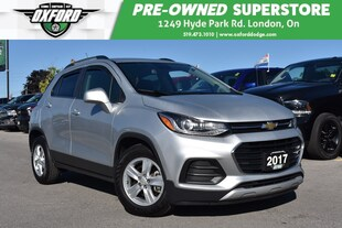 2017 Chevrolet Trax LT - One Owner, Low Kms, Fuel Efficient SUV