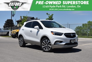 2018 Buick Encore Essence - One Owner, Low Kms, Super Clean SUV