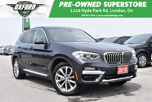 2018 BMW X3 xDrive30i - Panoramic Roof, Back-Up, GPS, UConnect SUV