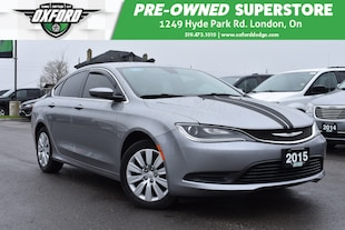2015 Chrysler 200 LX - Rear Split Seats, Carbon Fiber Like Details Sedan